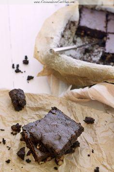 Brownie de algarroba [sin gluten] Receta #díadelbrownie
