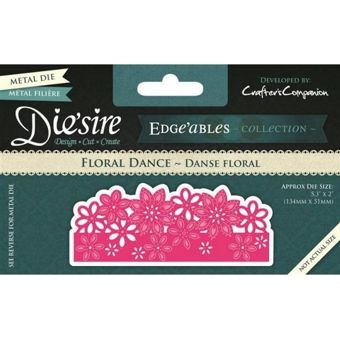 Die'sire Fancy Edge'ables Floral Dance Die