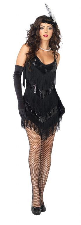 Flapper Costume - Womens Costumes