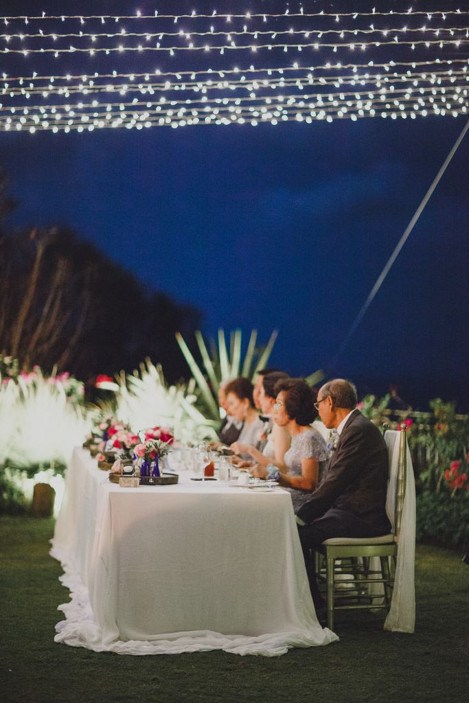Bridal Table at Dusk