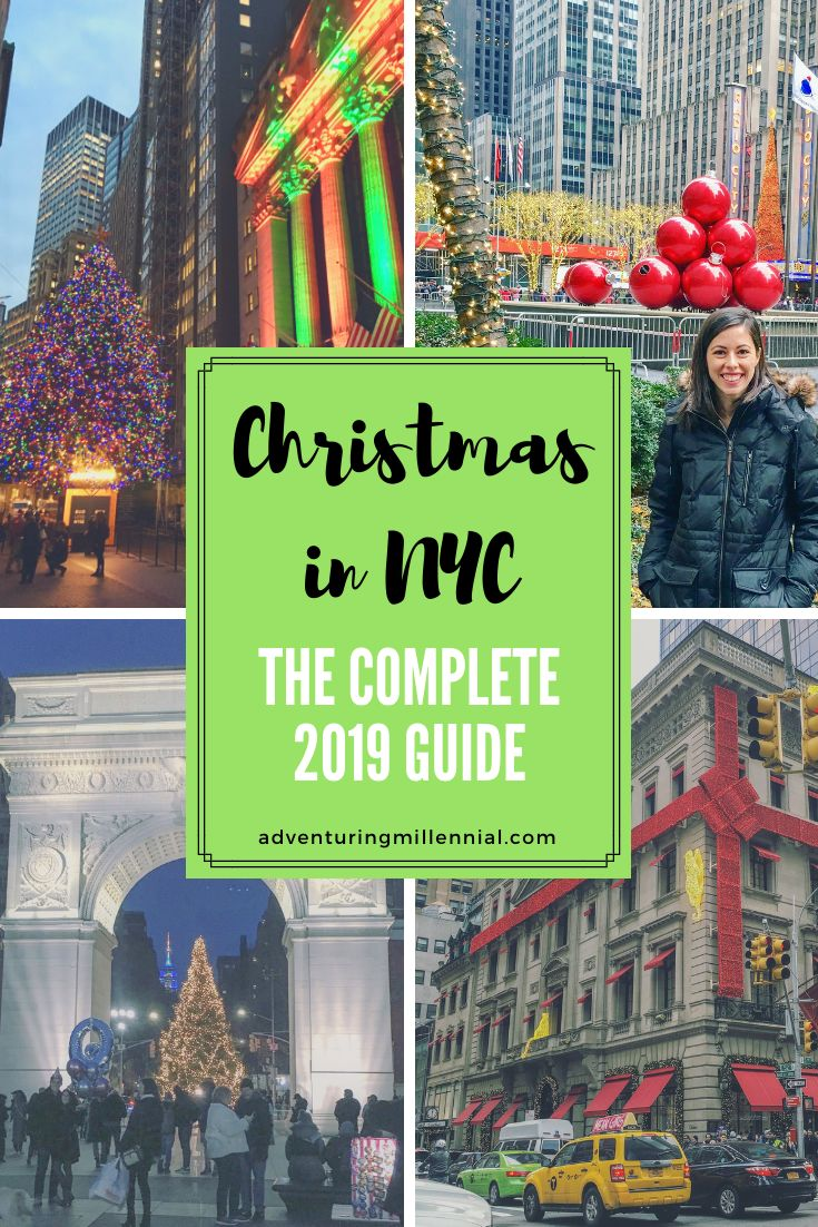 NYC Christmas Events // Spending the holidays in N…