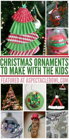25 Christmas Ornaments to Make with the Kids