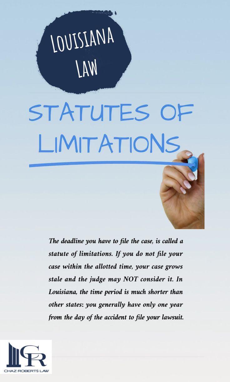 Louisiana statutesoflimitations limitations law
