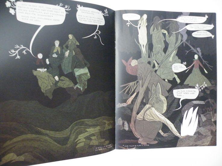 Ler BD: Baba Yaga and The Wolf/Wax Cross. Tin Can Forest (Koyama Press)