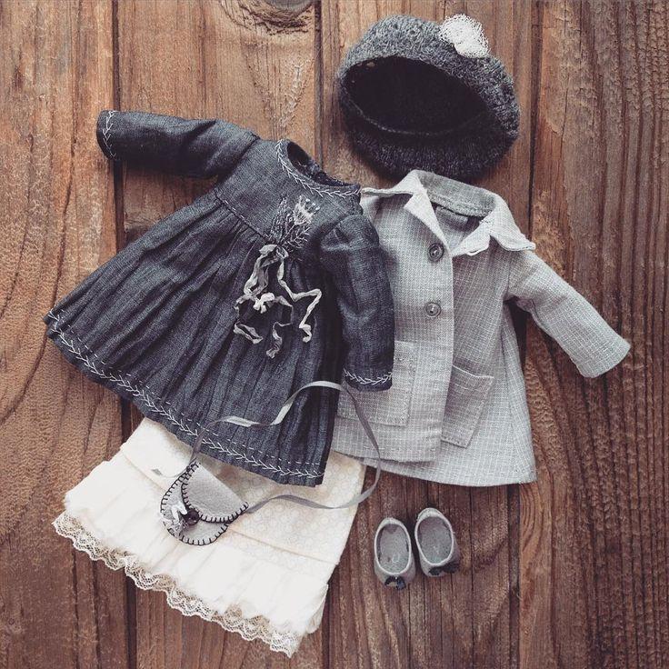 Обещала показать куклу. Начну с одежды. Как всегда слоями))) #моикуклы…