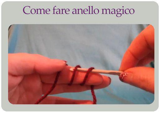 Come fare anello magico