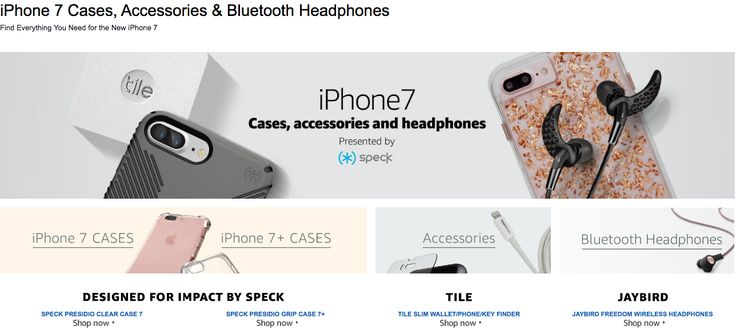 Whoops, Amazon just introduced the iPhone 7: While the Apple press conference is…