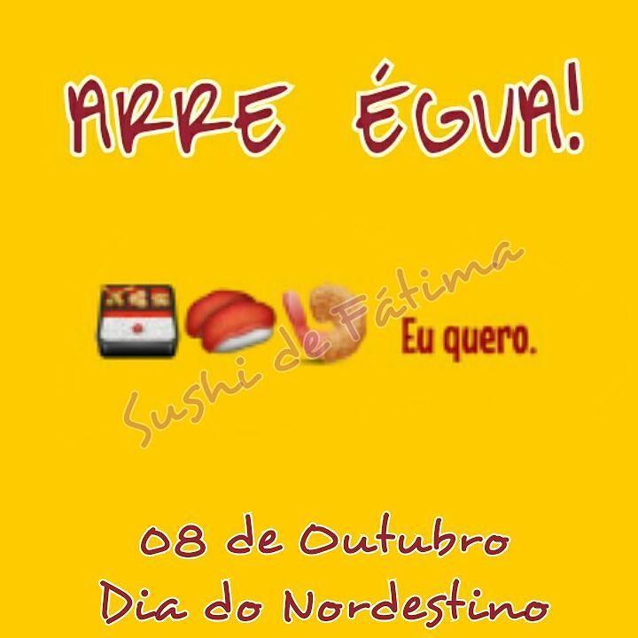 Oxe!!! Hoje é o dia mais arretado do ano! #sushidefatima #amosushidefatima #sushi #sushitime #sushilovers #sushibar #temaki #tataki #niguiri #maki #hot #uramaki #instafood #instadelicious #instasushi #fortaleza #ceara #restaurantefortaleza #sushibar #orgulhodesernordestino by sushidefatima