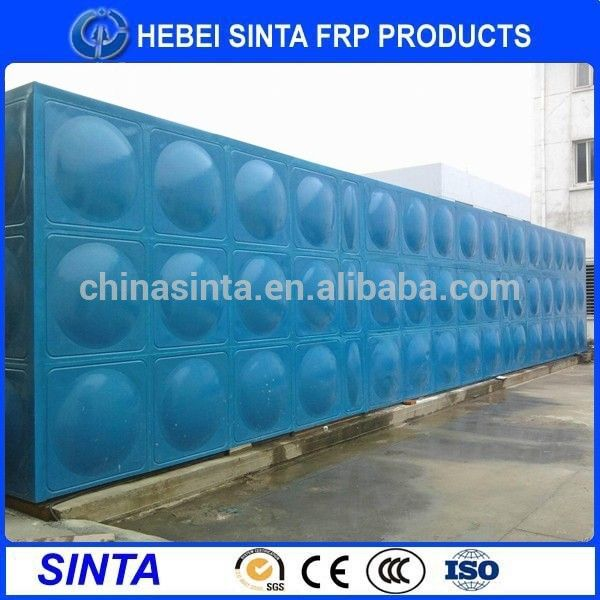 galvanized chemical hot dip steel galvanized water tank
