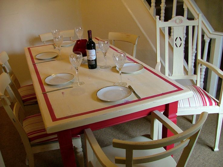 French Country Farmhouse Shabby Chic Dining by RetroandRustic, £450.00