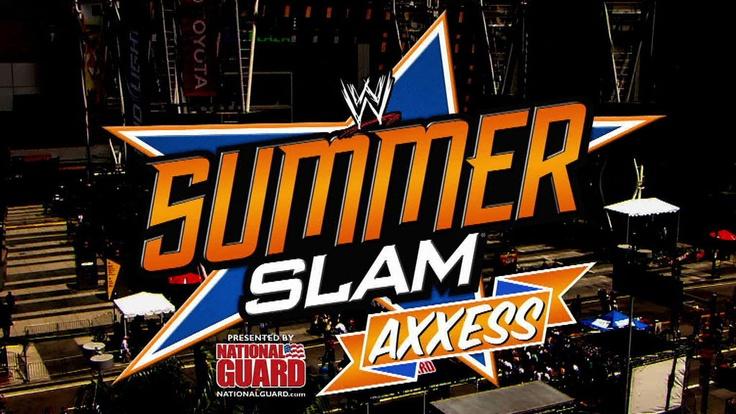 WWESummerslam Matching, Wwe Summerslam, Summerslam Celebrities, Wrestling, Summer Slammed, Summerslam 2013, Summerslam Tonight, Favorite Summerslam, Summerslam 2012