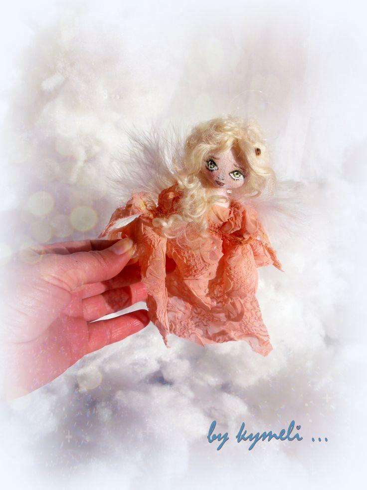 Mini Art Doll Angel (17cm) by kymeli