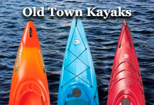 Old Town Kayaks and Canoes