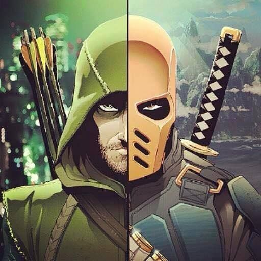 #GreenArrow & #DeathStroke #Arrow