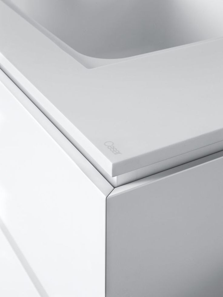 Lackierte Küche Mit Kücheninsel Ohne Griffe CLOE   COMPOSITION 1 By Cesar  Arredamenti Design Gian Vittorio