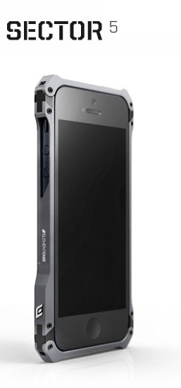 new Phone, new case. ElementCASE Sector 5 for iPhone 5. First Edition ships on the 18th in matte gunmetal with carbon and ultrasuede backplates.
