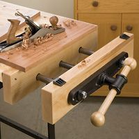 Heavy Duty Quick Release Front Vise - Rockler Woodworking Tools