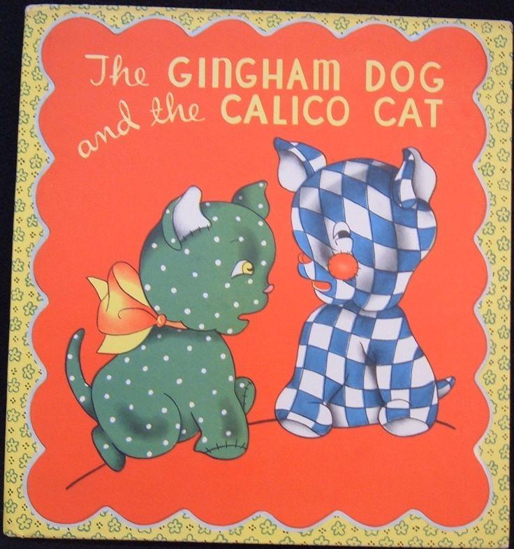 Gingham dog calico cat gingham galore pinterest