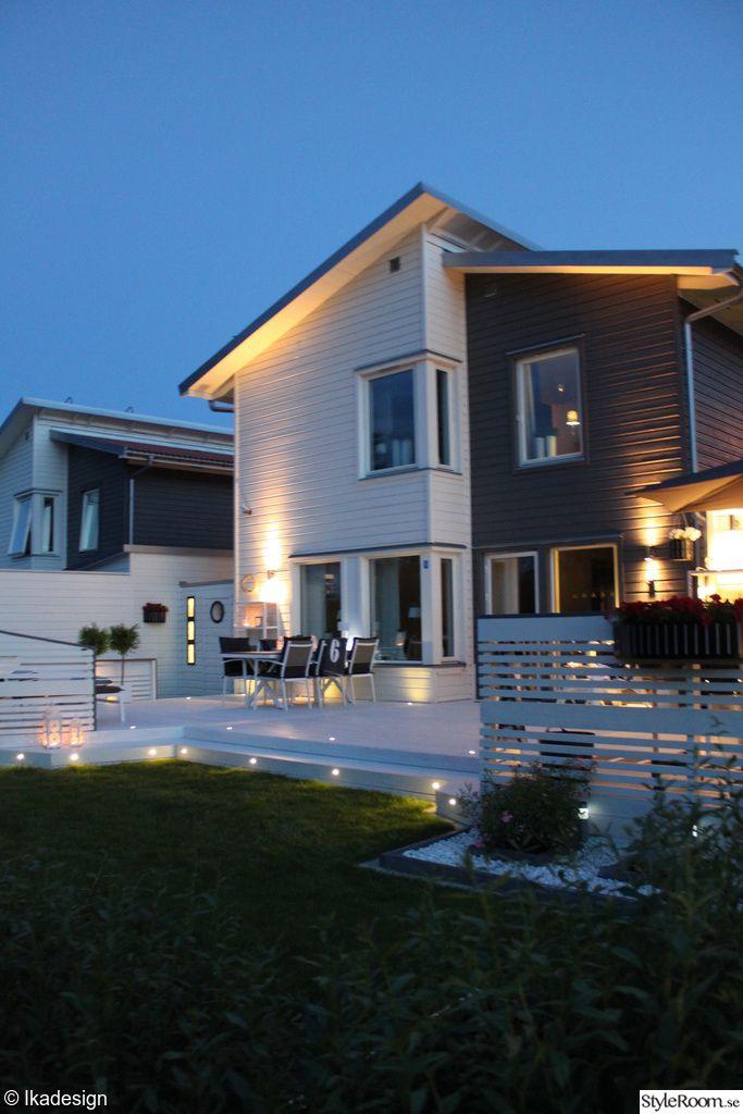 hus,trädgård,altan,utebelysning,utemöbler,utemöbler vita