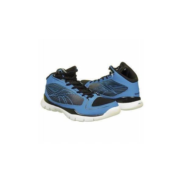 Reebok Kids' Sublite Pro Rise Grd Shoes (Blue/White/Black)