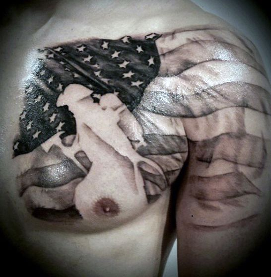 Cool Badass American Flag Tattoo Designs For Flag Day | Picture | Break.com