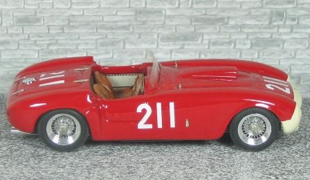 Ferrari 375 MM Winner Palm Spring  1955 #211 Jack McAfee - Alfa Model 43