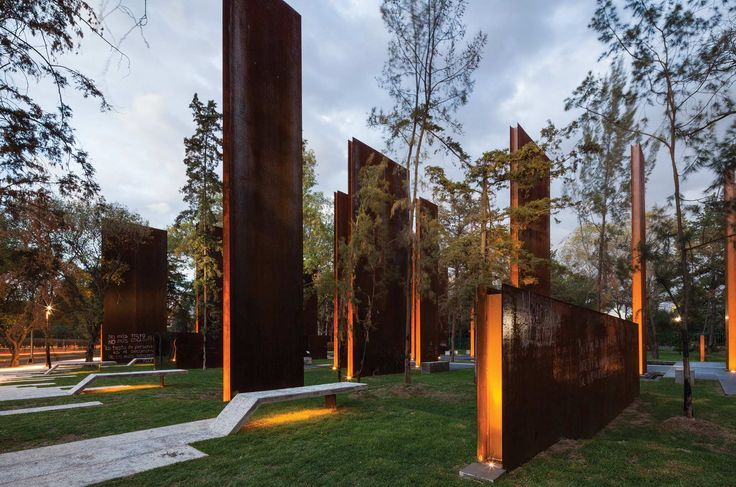 MEMORIAL-TO-VICTIMS-OF-VIOLENCE-IN-MEXICO « Landscape Architecture Works   Landezine