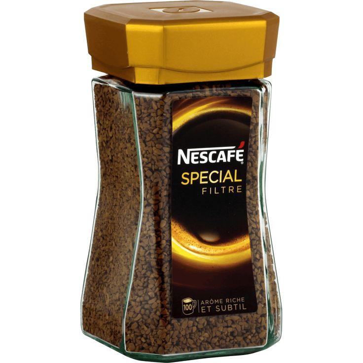 Café soluble NESCAFE Spécial Filtre flacon  200g