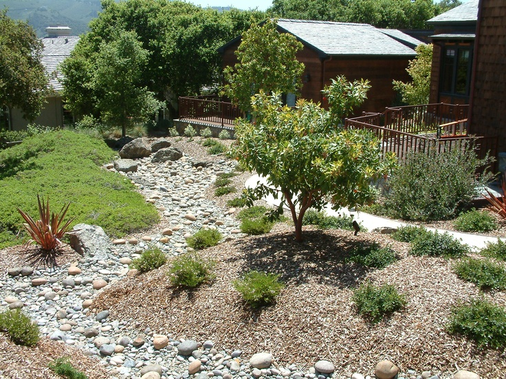 45 best images about garden dry streams on pinterest for Dry garden designs