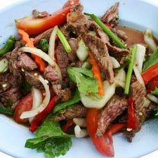 Thai Beef salad, my favorite =-)