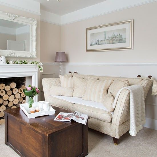 Neutral living room | House tour | PHOTO GALLERY | Ideal Home | Housetohome.co.uk