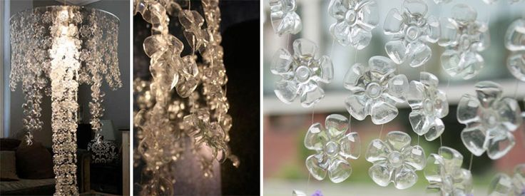 20 Chandeliers & DIY Lamps You Can Create From Everyday Objects- don't know about it being easy but they certainly are stunning!