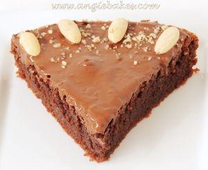 Mandľová čoko torta bez múky