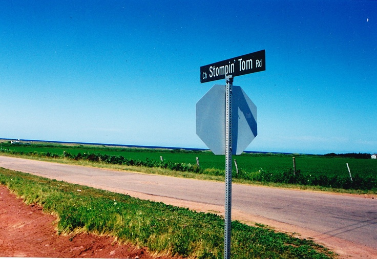 Stompin' Tom Rd -- birthplace of a proud son of PEI. #ExpediaThePlanetD