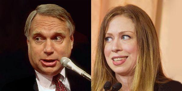 NEW YORK – Is Chelsea Clinton not the daughter of Bill Clinton? That's been a rumor swirling in the dark underworld of Clinton family speculation…