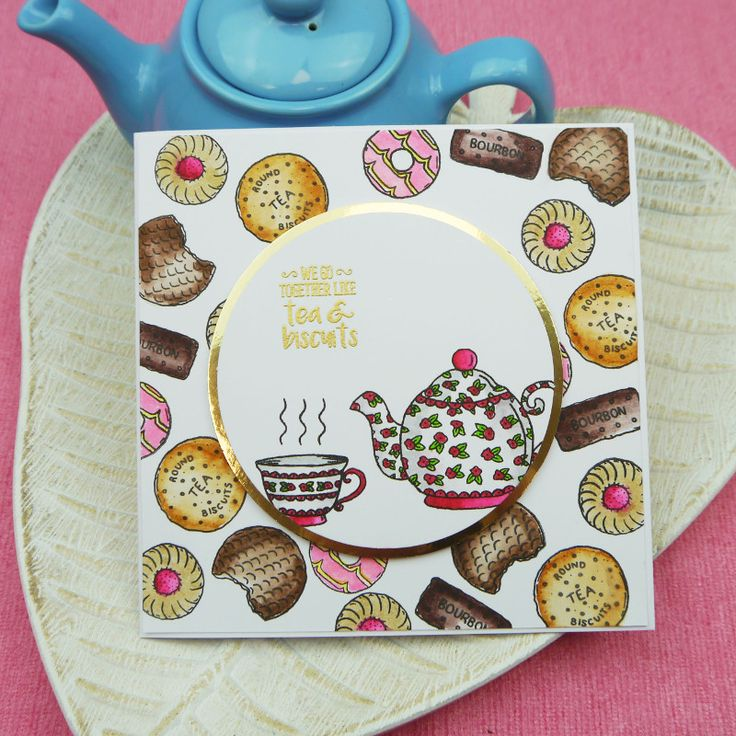 Tea & Biscuits. From the Biscuits Galore! and Sweetest Tea Party sets.