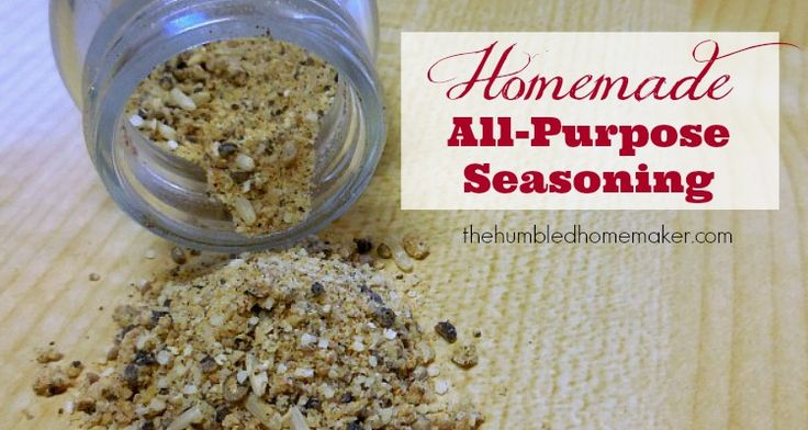 Avoid MSG in your seasonings with a homemade spice mix recipe. This all-purpose seasoning goes great on chicken, beef, fish, or your favorite vegetable.