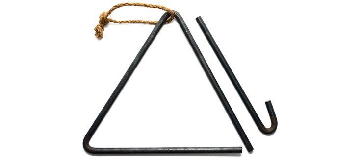 Forged Steel Dinner Bell - Kaufmann Mercantile