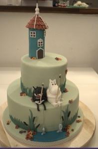 Moomin cake pour Léon 4 ans