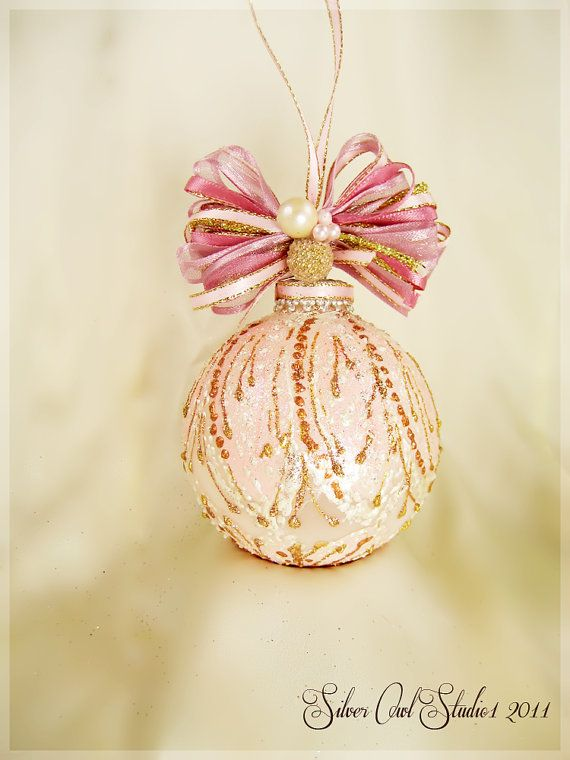 Faberge Inspired Christmas Ornament