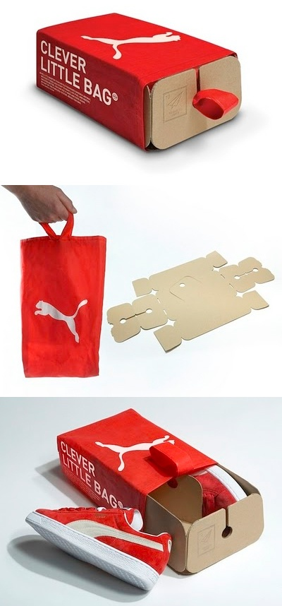 Puma-box #clever #packaging