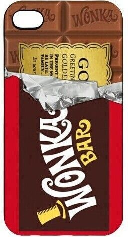 Willy Wonka Golden Ticket Chocolate Bar case pour Samsung Galaxy s2 s3 s4 s5 mini s6 bord Note2 3 4 iPhone4 5S 5c 6 Plus iPod 4 5 dans Sacs et Etuis pour Téléphone de Téléphones et télécommunications sur AliExpress.com | Alibaba Group