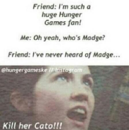 How could someone not know who Madge is