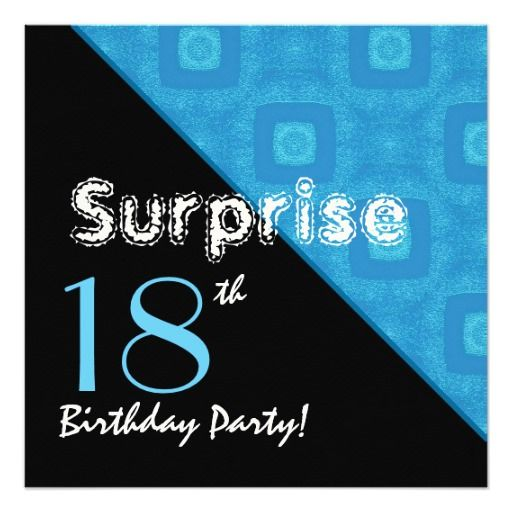 17 Best Images About 18th Birthday Party Invitations On