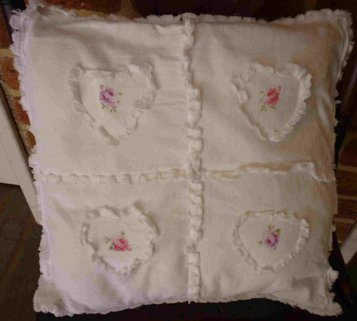 Simpleliving: Shabby Chic Cushion Cover ! – Jean Sedwick