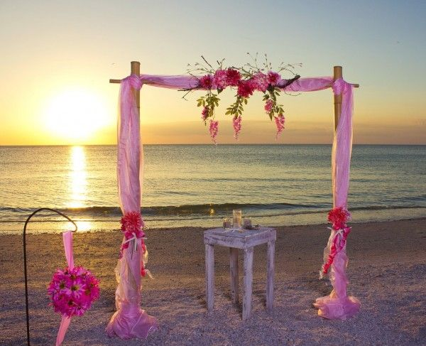 Tide The Knot Beach Wedding Packages: 21 Best 2014 Personalized Beach Wedding Arch Decoration