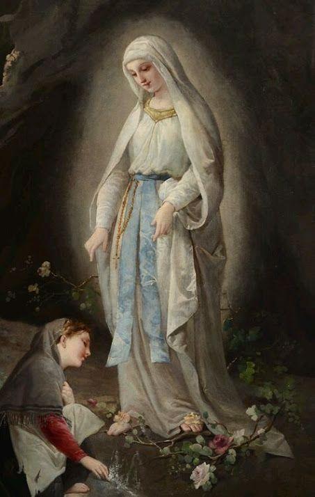 Virgin Mary and St. Bernadette
