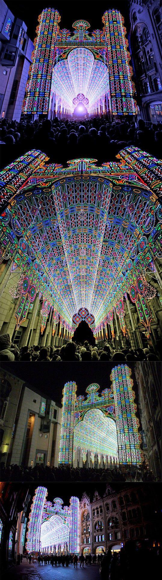 #Light_Festival - #Ghent, #Belgium http://en.directrooms.com/hotels/country/2-35/