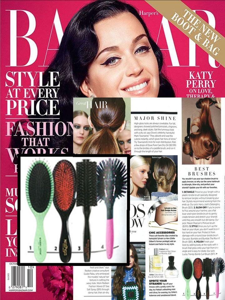 """Harper's Bazaar thinks the new Harry Josh Detangling Brush is among the """"best brushes""""!"""