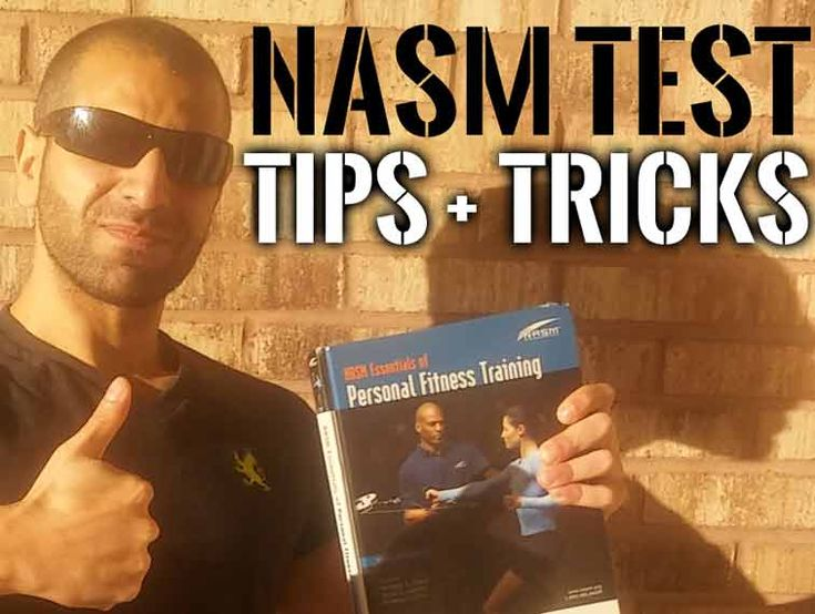 Pass The NASM CPT Exam! How To With Tips & Tricks!
